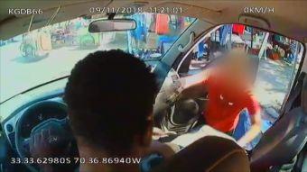 [VIDEO] Haitianos se defienden de asalto en La Pintana