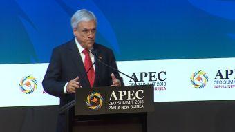 [VIDEO] Presidente Sebastián Piñera participa en cumbre APEC
