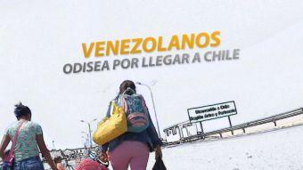 [VIDEO] #ReportajesT13 | Venezolanos: La odisea por llegar a Chile