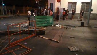 [VIDEO] Millonarios daños tras protestas en Santiago