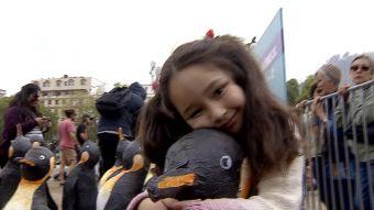 [VIDEO] Pingüinos para el cuidado del planeta