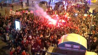 [VIDEO] La gran fiesta de los hinchas de River