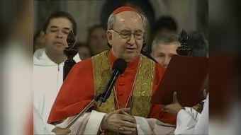 [VIDEO] Cardenal Errázuriz fuera de Consejo Papal