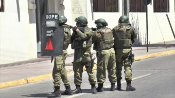 [VIDEO] Linares: realizaron simulacro de asalto a banco sin avisar a trabajadores