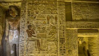 [FOTOS] Descubren tumba de más de 4 mil años de antigüedad en Egipto
