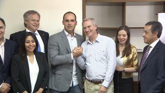 [VIDEO] UDI y RN proponen primarias a José Antonio Kast