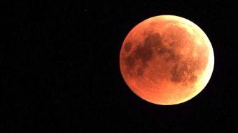 [VIDEO] La fecha en la que se verá la Superluna de sangre en Chile