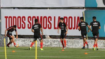 [FOTOS] Así trabaja la Selección Chilena Sub 20 en Juan Pinto Durán