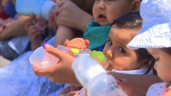 [VIDEO] Leche gratuita para niños con alergia