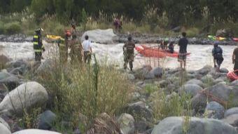 Kayakista muere ahogado en el río Maipo