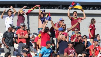 [VIDEO] Jesús Vargas anota para Venezuela e iguala el marcador ante Chile