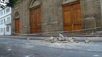 [VIDEO] Severos daños en el centro histórico