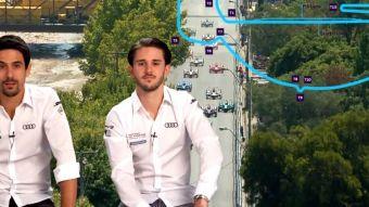 [VIDEO] Pilotos de la Fórmula E calientan la Antofagasta Minerals Santiago E-Prix 2019
