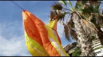 [VIDEO] Polémica por caída de parapente en Reñaca