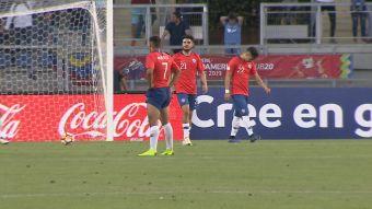 [VIDEO] Sudamericano Sub 20: Insulto y disculpas en Rancagua