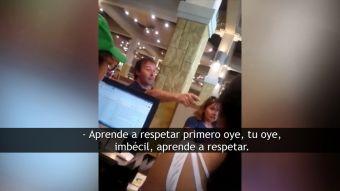 [VIDEO] Insultos xenófobos a trabajadores extranjeros