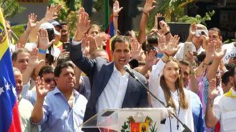 Nuevos apoyos Guaidó
