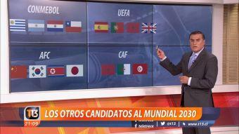 [VIDEO] Las otras candidaturas con que Chile pelearía organizar el mundial de 2030