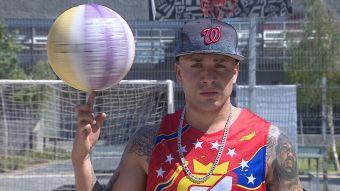 [VIDEO] De San Bernardo a Miami: Chileno estará en el mejor equipo de básquetbol callejero