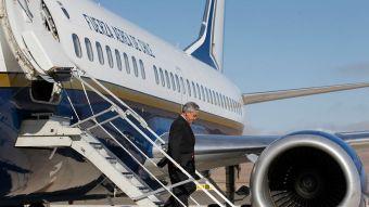 Avión presidencial falla en Iquique