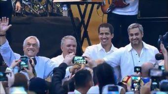 [VIDEO] T13 en Colombia: Así se vivió el masivo concierto en la frontera
