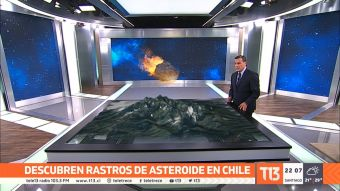 [VIDEO] Descubren rastros de asteroide en Chile que extinguió megafauna