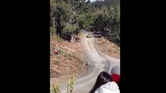 Accidente marca jornada en Rally Mundial