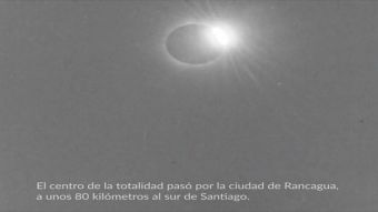[VIDEO] Descubren registro más antiguo de eclipse en Chile