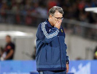 [VIDEO] Renuncia de Martino aumenta crisis total en el fútbol argentino