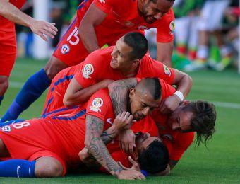 [FOTOS] Las mejores imágenes de la abultada victoria de Chile frente a México