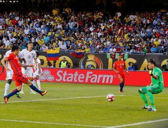 [FOTOS] Revisa las mejores imágenes de la semifinal entre Chile y Colombia por Copa Centenario