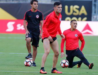 [FOTOS] Así fue la última práctica de La Roja antes de la final de la Copa América Centenario