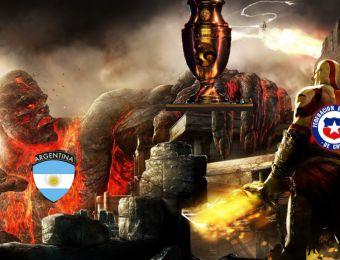 [FOTOS] Los memes que calientan la final entre Chile y Argentina