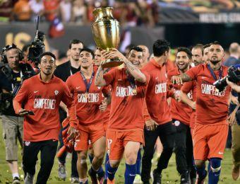 [FOTOS] Las imágenes de la final de Copa América en que Chile venció a Argentina