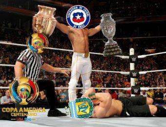 [FOTOS] Los memes que dejó la infartante final entre Chile y Argentina