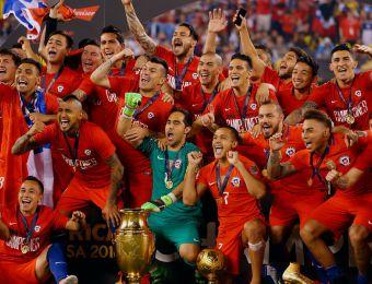 [FOTOS] ¡Grande campeones!: Así celebró La Roja su triunfo en la Copa Centenario