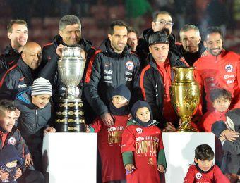 [FOTOS] Las mejores postales de la celebración de La Roja en el Estadio Nacional