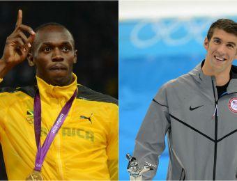 [VIDEO] El adiós de Usain Bolt y Michael Phelps tras Río 2016