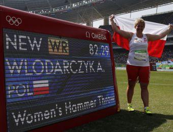 [FOTOS] Atleta polaca bate el récord del mundo del lanzamiento de martillo