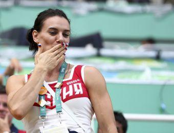 [VIDEO] El sufrido adiós de Yelena Isinbayeva del atletismo