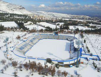 [FOTOS] Así lucieron los estadios Monumental, Nacional y San Carlos tras nevazón