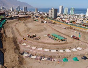 [FOTOS] Iquique muestra avances de la construcción del nuevo estadio Tierra de Campeones