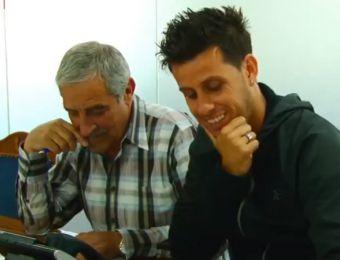 """[VIDEO] No lo podía creer: Rivarola y """"Lulo"""" Socías sorprenden a hincha de la U"""