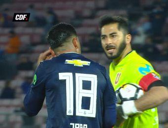 [VIDEO] Nueva pelea pública en la U: Ahora fue entre Herrera y Jara