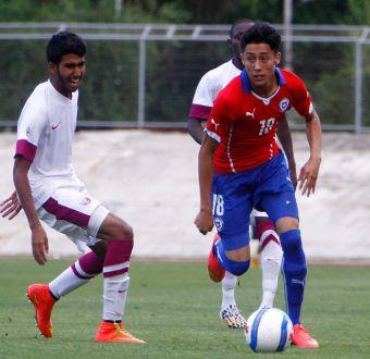 """La """"Roja"""" sub 17 derrotó por 3 a 1 a Qatar en duelo preparatorio para el Mundial de 2015"""