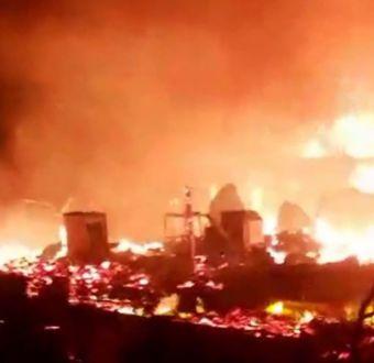 Incendio en campamento de Antofagasta deja más de 200 damnificados