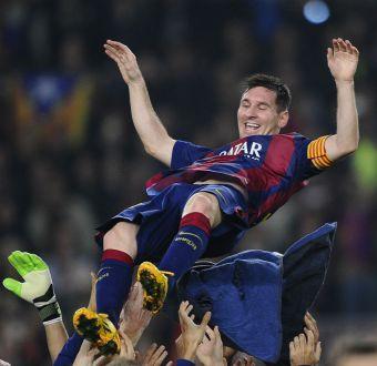 Reacciones tras el récord de Messi como máximo goleador de la Liga Española