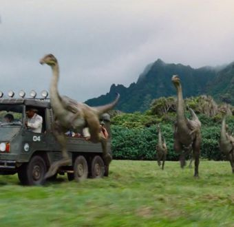 """[VIDEO] Estas son las primeras imágenes de la cuarta parte de """"Jurassic Park"""""""