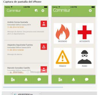 Así funciona Commisur, la aplicación chilena de seguridad ciudadana