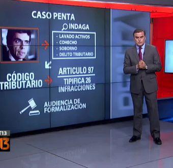 [T13] Ramón Ulloa explica las formalizaciones del Caso Penta